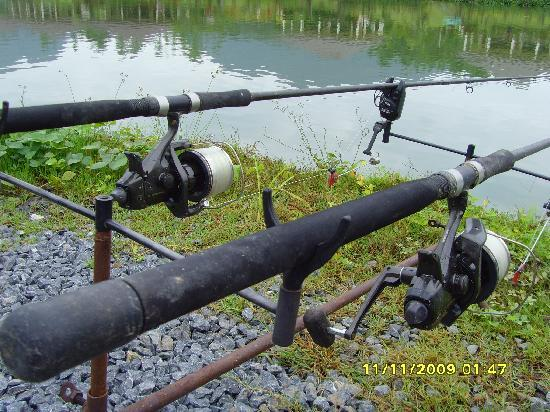 Gillhams Fishing Resorts: rods