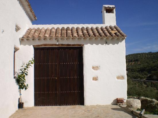 Cortijo El Horcajillo Casa Rural: Entrada