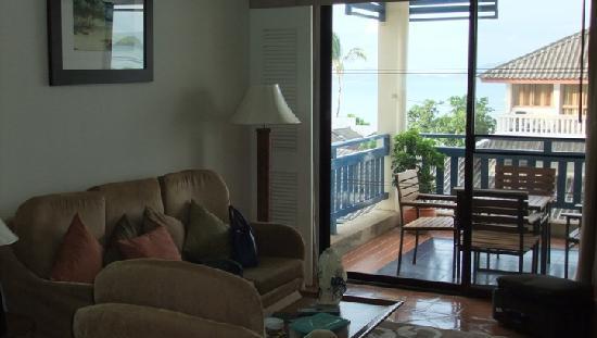 Kantary Bay, Phuket: living room