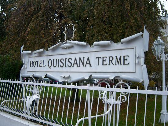 Quisisana Hotel Terme: Ingresso