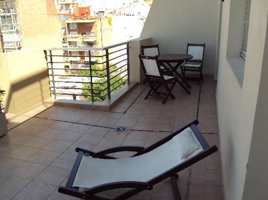 Espacia Suites: Terrace