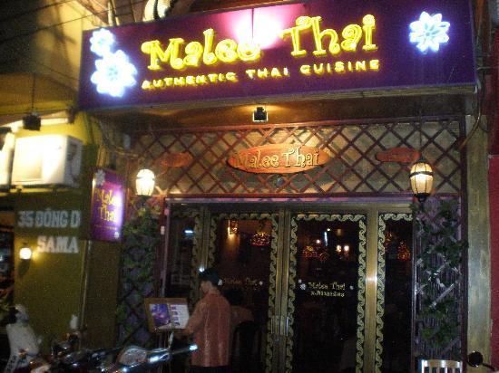 Malee Thai Restaurant : Front Entrance
