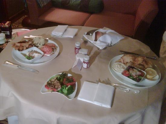 Grand InterContinental Seoul Parnas: room service