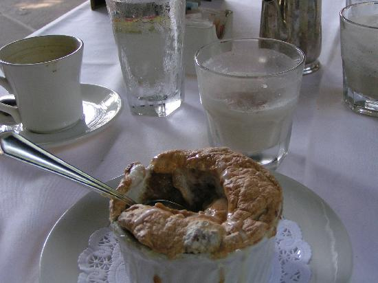 Commander's Palace: Bread Pudding Souffle