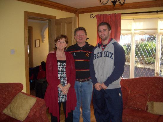 Laburnum Lodge: Teresa out host