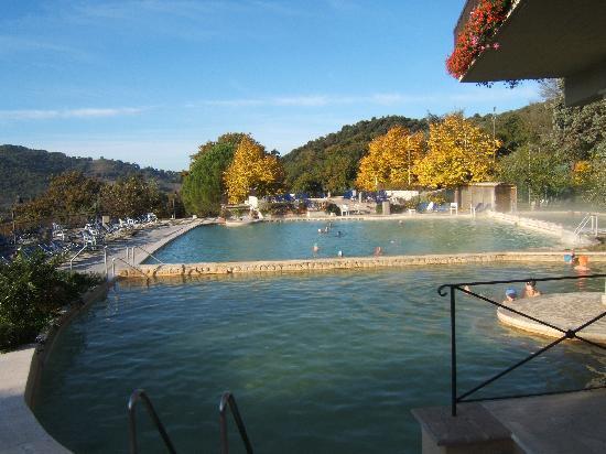 Le piscine - Foto di Albergo Posta Marcucci, Bagno Vignoni - TripAdvisor