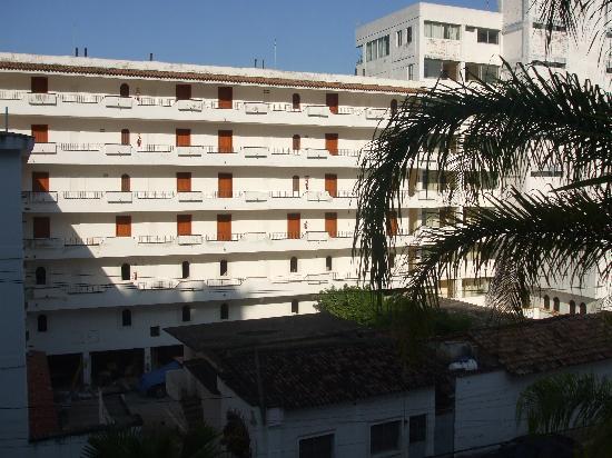 La Terraza Inn: View from room balcony