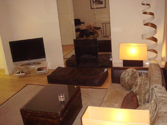 No. 5 Maddox Street: living room