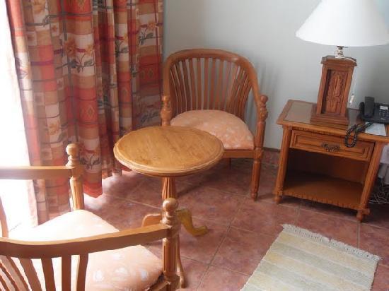 Kunduchi Beach Hotel And Resort: Table Set facing tv