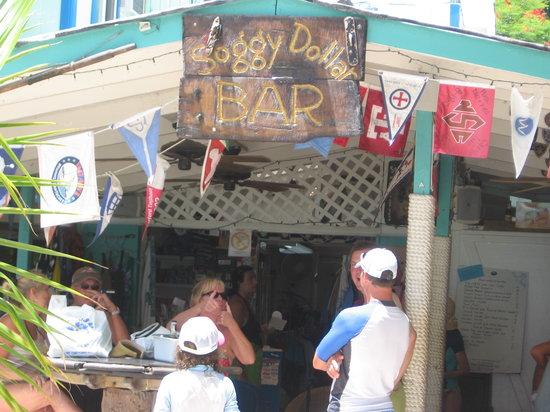 Soggy Dollar Bar: Entrance