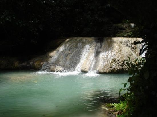 Mele Cascades just outside Vila. It is a series of waterfalls and fresh water pools set down the