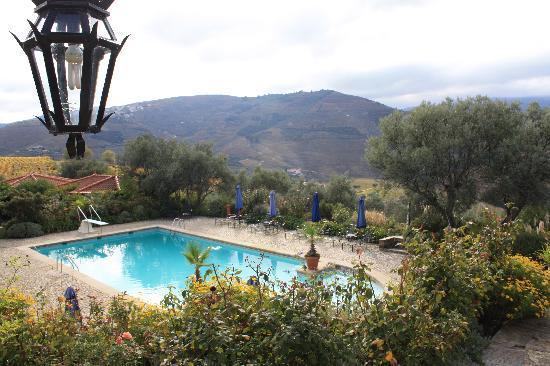 Casa do Visconde de Chanceleiros: the pool