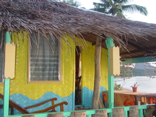 Island Front Cottages: Our room, right on the beach, the best view