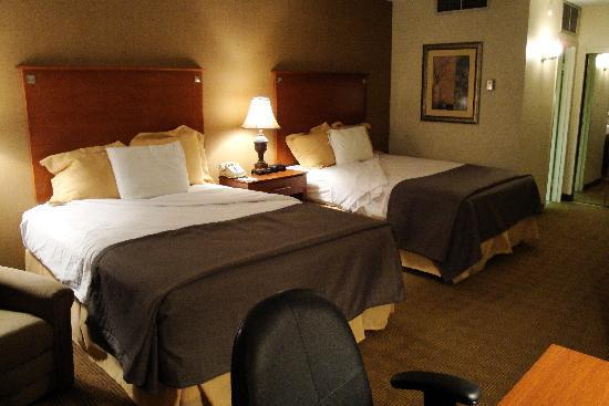 Park Inn by Radisson Houston North & Conference Center: The best mattress and pillows of my trip