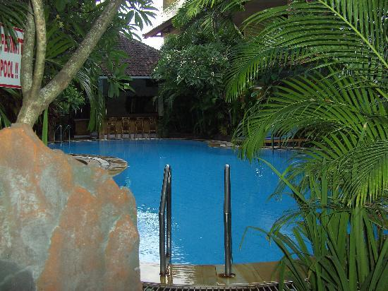 سيكريت جاردن إن: View from room over garden and pool