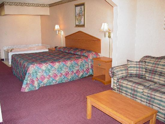 Garden Inn and Suites: king