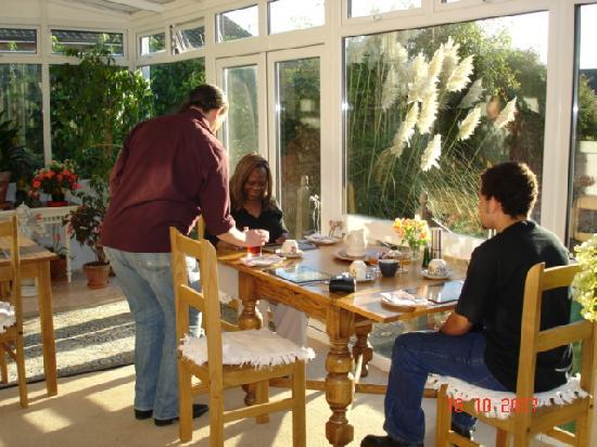 Arden House Bed & Breakfast Bexhill: Another delicious breakfast is enjoyed