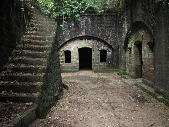 Wakayama, Japan: 半世紀を越えて存在する戦跡