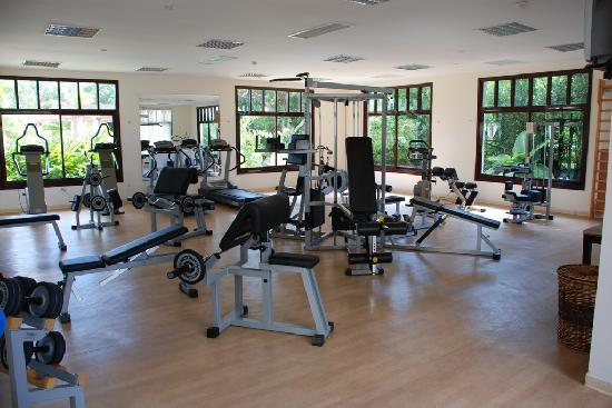 Their gym picture of iberostar ensenachos cayo