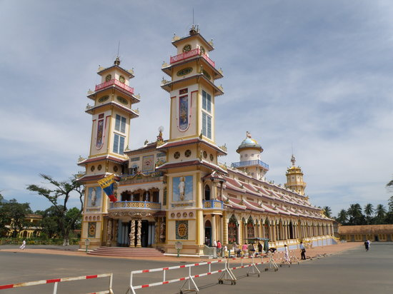 Tay Ninh, Vietnam: Cao Dai Temple