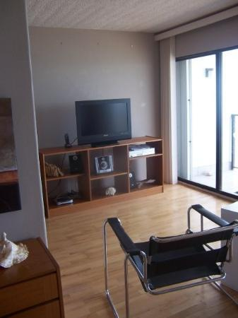 By the Sea Condos: Living room...