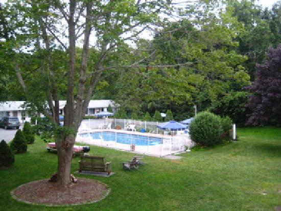 Sesuit Harbor House: Pool and Grounds Area