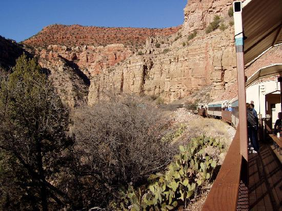 Verde Canyon Railroad: Winter in Verde Canyon
