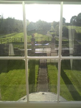 Manor Farm: view from the room