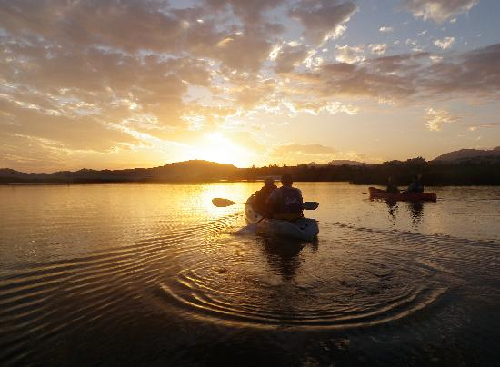 Cabo Outfitters : Sunset kayaking