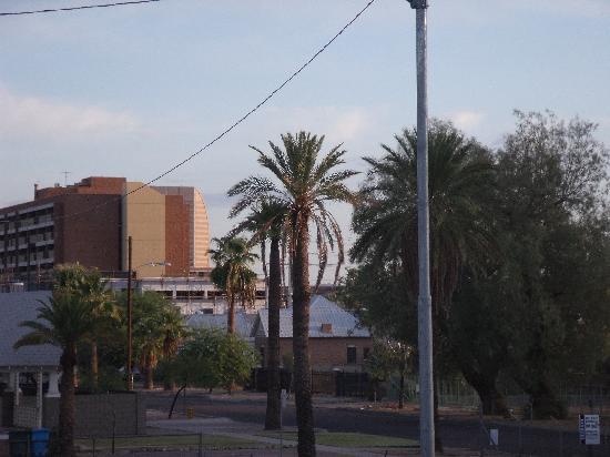 Rodeway Inn Downtown Phoenix: sun rise in Phoenix