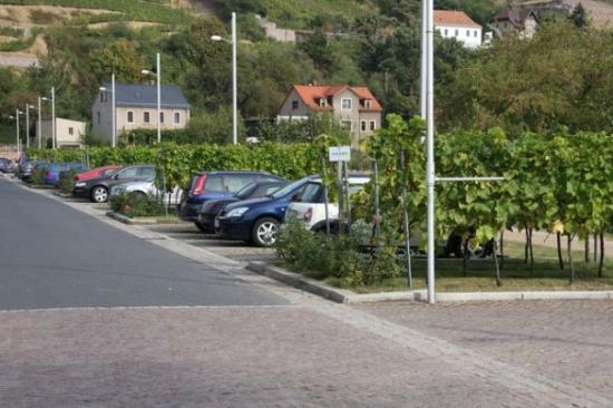 Radebeul, เยอรมนี: Parking places