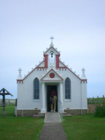 St Mary's, UK: Italian Chapel. Lambholm, Orkney Islands