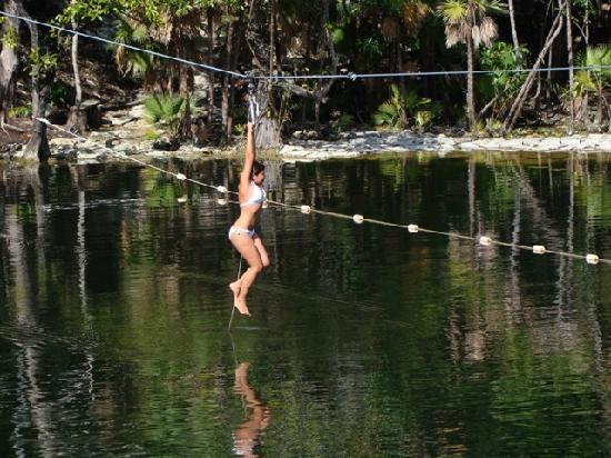 Parque Cenote Las Mojarras: Bellezas paradisíacas