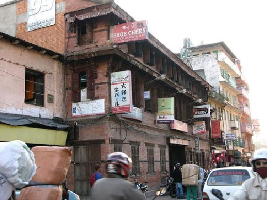 Bhoe Chhen: Basantpur Plaza from another angle.