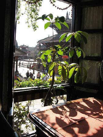 Cafe de Temple: view from window