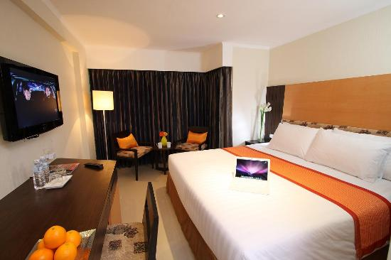 Citin Pratunam Hotel by Compass Hospitality : Superior King Bedroom