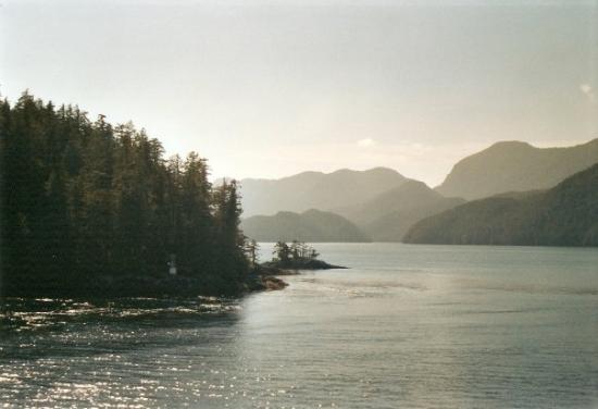 Prince Rupert, Kanada: Inside passage, traversata del passaggio a nord-ovest, da Port Hardy (Vancouver Island - British