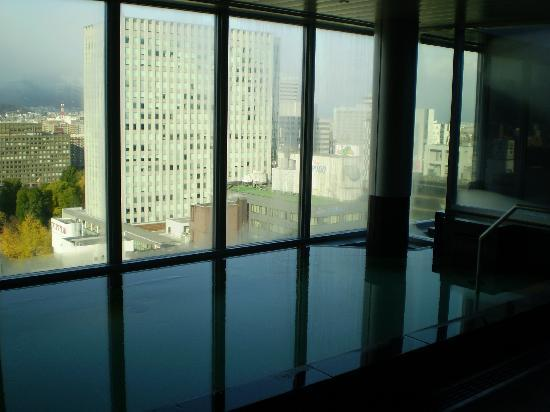 Cross Hotel Sapporo: 展望風呂