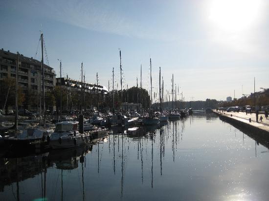 Yachthafen von Caen
