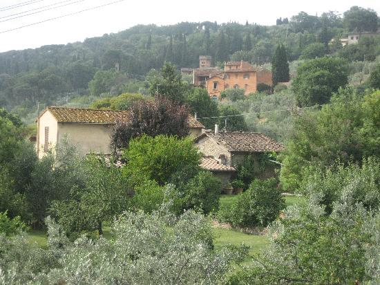 Villa I Cancelli: Outlook from the patio