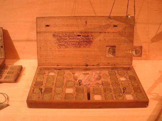 Money Museum (Geldmuseum der Deutschen Bundesbank): Coin scale box from 1600s