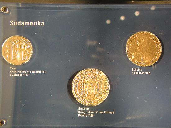 Money Museum (Geldmuseum der Deutschen Bundesbank): South American gold coins