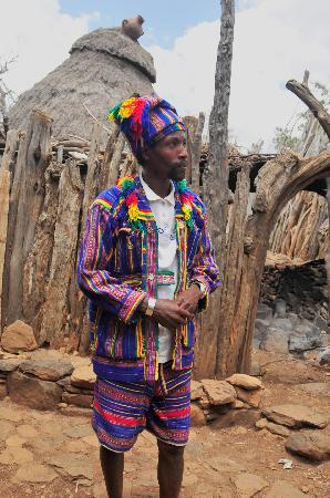 Jinka, Ethiopia: King of Konso Tribe -Ex Engineer From Addis
