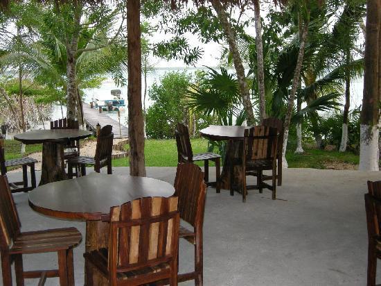 Kuuch Kaanil Villas Eco-romanticas : La vista desde el comedor es espectacular