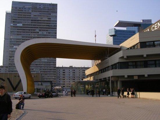 Austria Center Vienna: Autstria Center - na obiadek w sam raz
