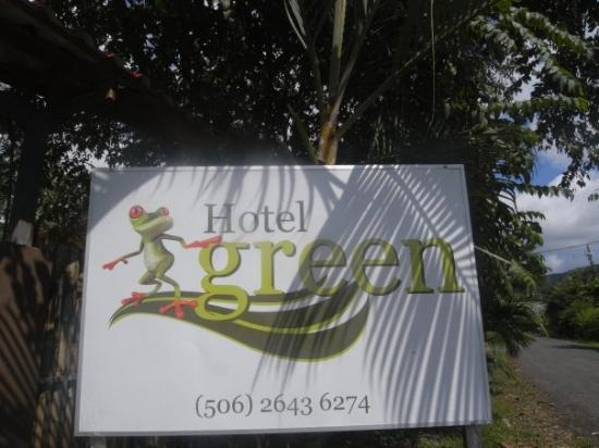 Hotel Green: Un lindo hotelito en Jaco, apartadito del bullicio pero a un brinco del centro, en Quebrada Seca
