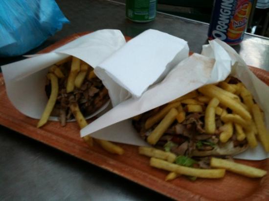 kebab avec fromage et frites photo de toulouse haute garonne tripadvisor. Black Bedroom Furniture Sets. Home Design Ideas