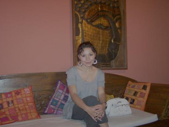 Benidorm, Spain: en un lounge Bar, al mas puro estilo indú, aunke hay puro inglés y Alemán