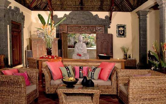 Villa Awang Awang: living room