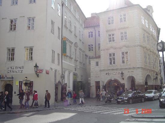 Hotel U Tri Bubnu: Front of hotel